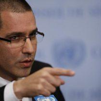 """Venezuela acusa que sanciones de EE.UU. son """"delitos de lesa humanidad"""""""