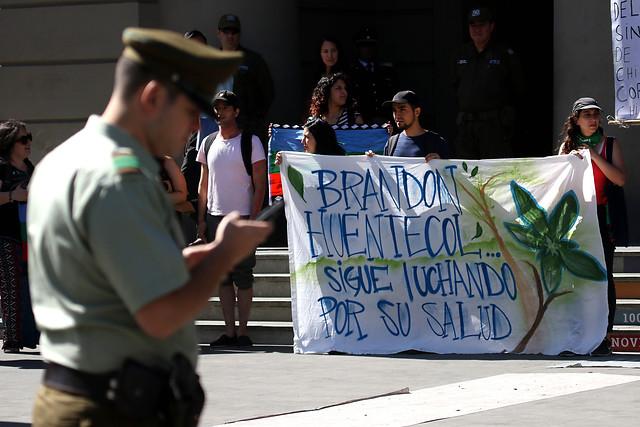 Solo una condena de libertad vigilada para el carabinero que disparó al joven mapuche Brandon Hernández Huentecol