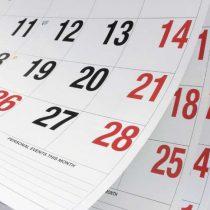 Tome nota para planificar: la lista de todos los feriados del 2019