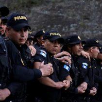 La nueva caravana de migrantes cruza la frontera guatemalteca