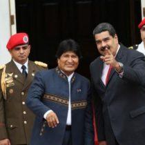 """Firme con Maduro: Evo Morales acusa a las """"garras del imperialismo"""" de atacar al presidente venezolano"""