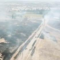 Incendio forestal provocó alarma en Puente Alto