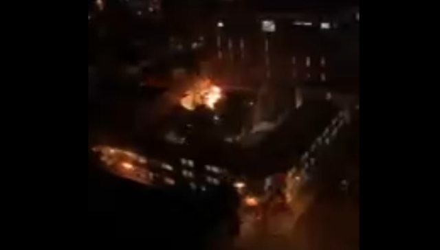 Amago de incendio en oficinas centrales de Metro