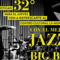 Big Band de la Universidad de Chile en concierto gratuito en Centro Cultural La Moneda