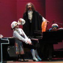 "Obra musical ""Mozart el niño monstruo"