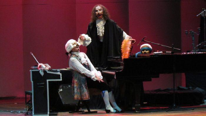 """Obra musical """"Mozart el niño monstruo"""" en Teatro Universidad de Concepción"""