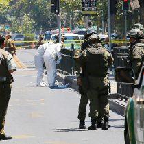 Explosión en paradero del Transantiago en Vicuña Mackenna con Bilbao deja 5 heridos