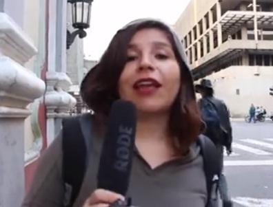Periodista chilena radicada en Venezuela desmiente a enviado especial de TVN en Caracas