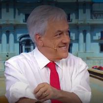 """Insólita comparación: Piñera pone 'rating' de matinales y selección escolar al mismo nivel para defender """"Admisión Justa"""""""