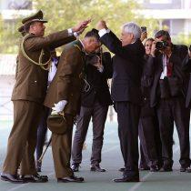 """Piñera: """"Carabineros tienen derecho a usar la fuerza en el marco de la ley y a defenderse cuando son atacados"""""""