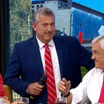 La broma de Piñera sobre el estadio de la U que incomodó a Carlos Heller en pleno matinal