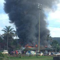 Incendian Juzgado de Letras y Garantía de Rapa Nui
