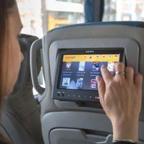 Buses cuentan con sistemas de entretenimiento a bordo