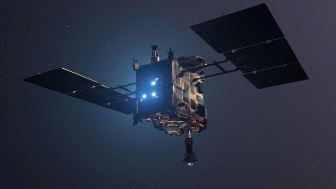 Hayabusa 2: la sonda japonesa aterriza con éxito sobre el asteroide Ryugu