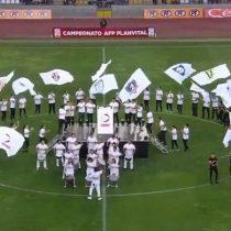 ¿Estamos preparados para un mundial? La particular ceremonia de inauguración del Campeonato Nacional que desató criticas en redes sociales
