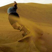 Sandboard: deporte para temerarios y también para novatos