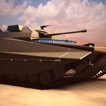 Israel presenta lo que sería un carro de combate del futuro