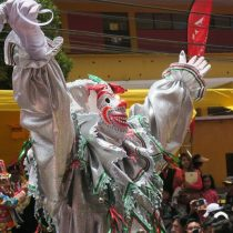 La Paz se prepara para el carnaval con el desentierro del