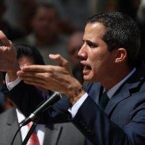 La frase más polémica de Juan Guaidó: no descarta una intervención militar de Estados Unidos