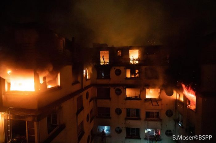 Una detenida por el incendio que causó al menos 10 muertos en París