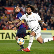 Vidal y Messi no pudieron: Barcelona solo iguala ante el Real Madrid por la Copa del Rey