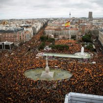 """Pedro Sánchez responde a la protesta de Madrid: """"Las derechas buscan dividir"""""""