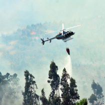 Incendios forestales: decretan estado de excepción en algunas zonas de las regiones del Biobío, La Araucanía y Los Ríos