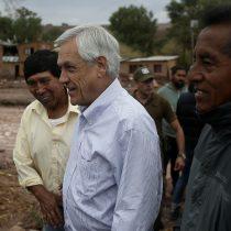Piñera se compromete con $20 mil millones y bonos para las familias afectadas por temporal en el norte