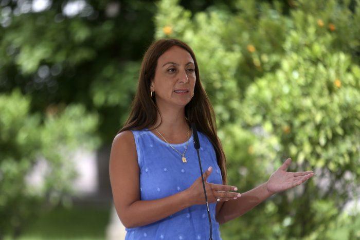 """Cecilia Pérez por críticas a su rol: """"El Presidente es el mejor vocero del gobierno"""""""