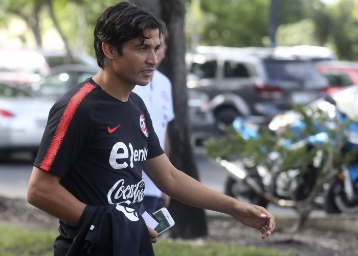 Matilocura: Masivo recibimiento por los hinchas de Junior a Matías Fernández