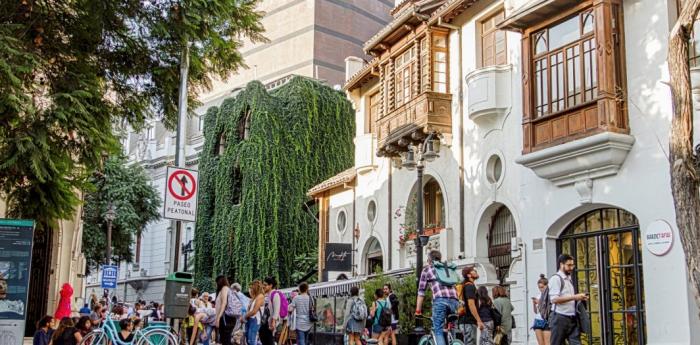 Degradación acelerada de Barrio Lastarria