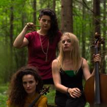 Concierto gratuito de trío femenino DeRuts en Museo Violeta Parra