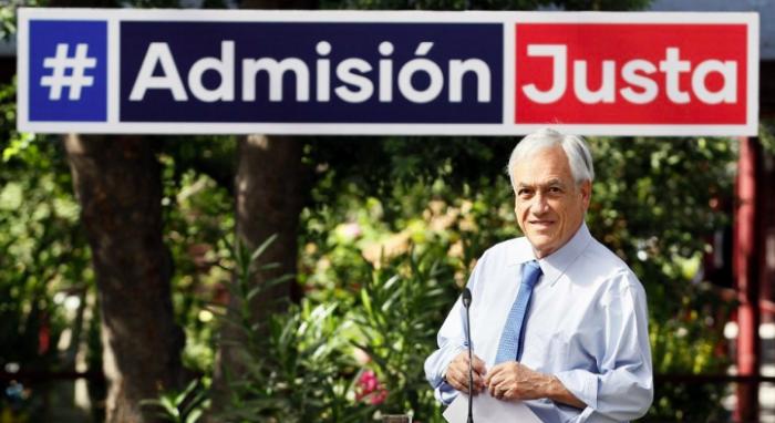 """""""Admisión justa"""" es la contrarreforma a la Educación del Presidente Piñera"""