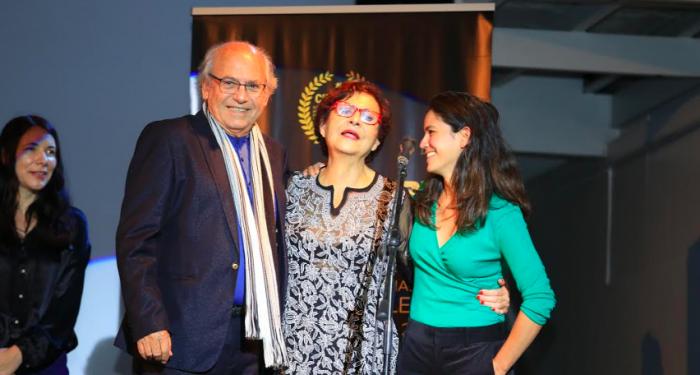 """Con el estreno mundial de la película """"Apego"""" comenzó el Festival Internacional de Cine de Lebu"""