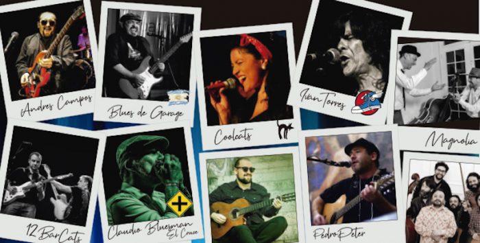 5to Festival Internacional de Blues gratuito en Lago Ranco