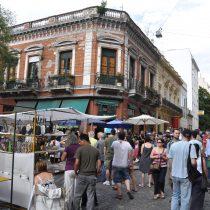Domingos más vacíos en Buenos Aires sin los artesanos de la Feria San Telmo