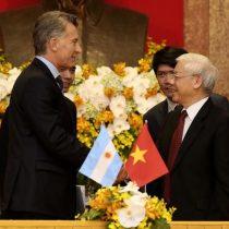 Macri viaja por Asia buscando abrir la economía argentina