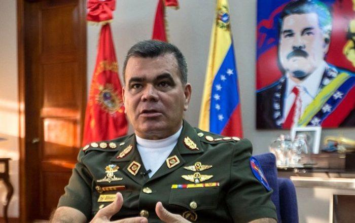 """Vladimir Padrino, ministro de Defensa de Maduro: """"Intento de golpe de Estado es de una magnitud muy insignificante"""