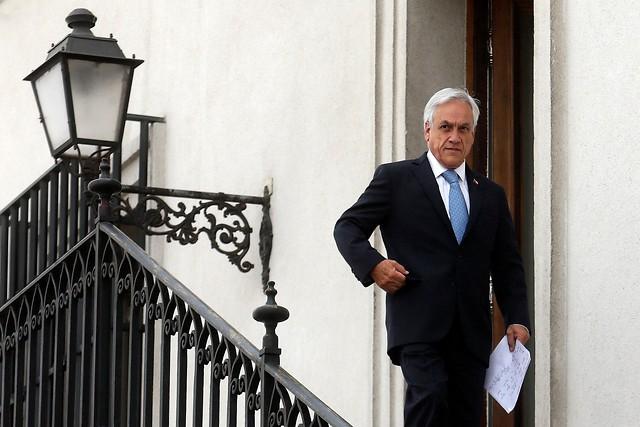 """El espaldarazo de Piñera a Ubilla tras vincular incendios con el tema mapuche: """"Está actuando con perfecta responsabilidad"""""""