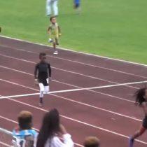 Con siete años lo llaman el nuevo Usain Bolt