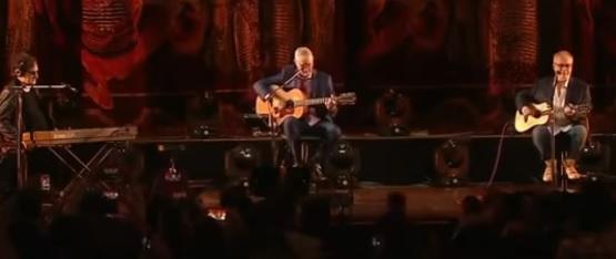El exitoso grupo argentino Serú Girán se volvió a reunir en un escenario luego de 27 años