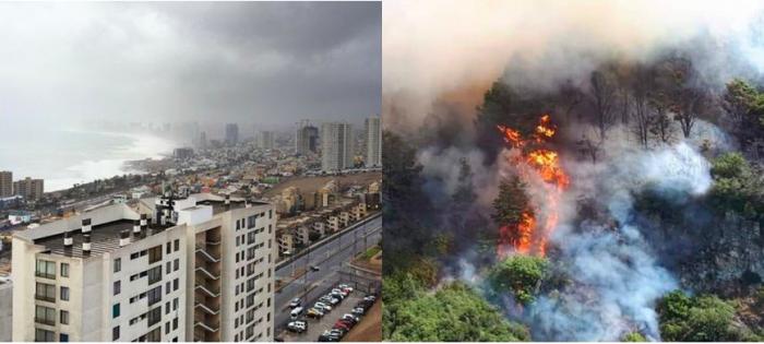 Llamado de precaución a turistas que visitan zonas afectadas por lluvia e incendios