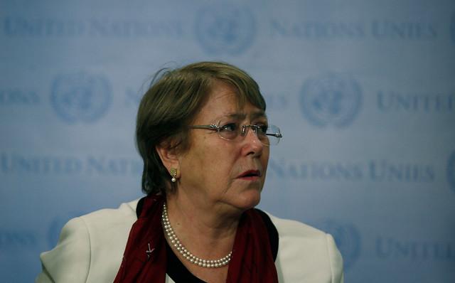 """Vocero ONU de Bachelet por Juan Guaidó: """"Depende de los Estados el reconocer, no es tarea del alto comisionado"""""""