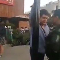 """Erís' un venezolano o un colombiano, un traficante"": video revela otro penoso episodio de prepotencia"
