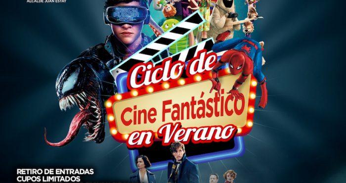 Cine Fantástico y Teatro Familiar gratuito en Puente Alto