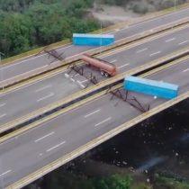 Gobierno de Maduro bloqueó el paso del puente binacional Tienditas