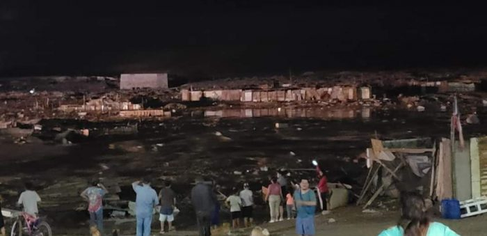 Invierno Altiplánico: fuertes lluvias dejan un muerto, 2 desaparecidos y arrasan campamentos
