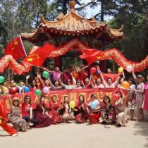Comunidad china residente celebra Fiesta de la Primavera en Parque O'Higgins