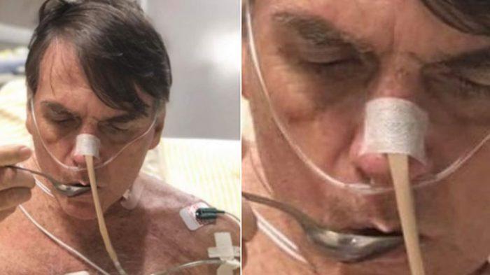 La foto hospitalizado de Jair Bolsonaro que genera dudas en las redes sociales