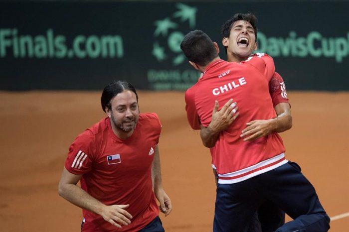 Garín se viste de héroe y sella el regreso de Chile al Grupo Mundial de Copa Davis tras ocho años